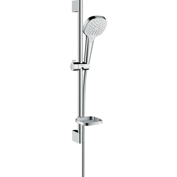 Hansgrohe Croma Select E Vario/Unica  zuhanyszett Casette 'E szappantartóval 0 65m    fehér/