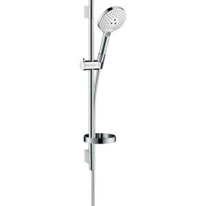 Hansgrohe Raindance Select S 120 3jet/ Unica'S Puro zuhanyszett 0 65 m    fehér/