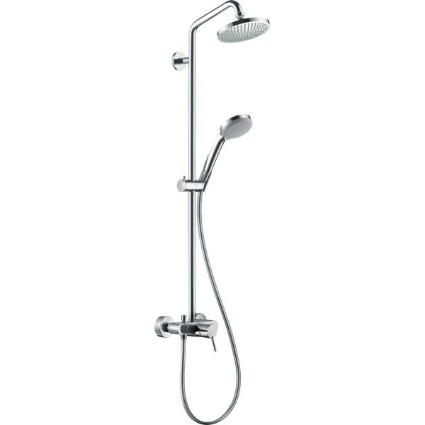 Hansgrohe Croma 160 showerpipe egykaros zuhanycsapteleppel