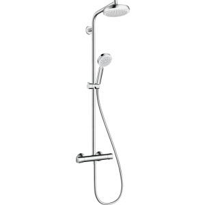 Hansgrohe Crometta 160 1jet showerpipe    fehér/