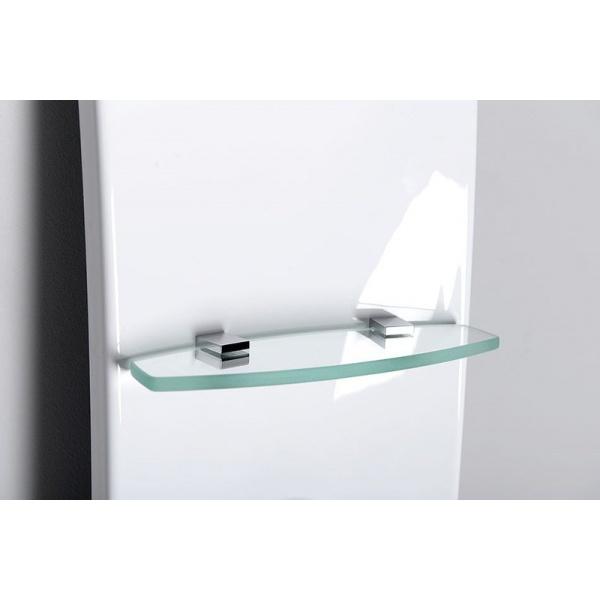 Polysan Luk termosztátos, hidromasszázs, sarok zuhanypanel (80325)