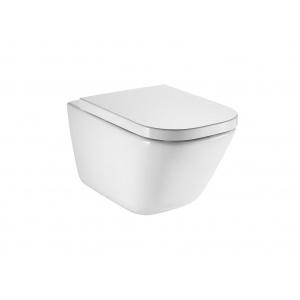 Roca The Gap Square fali WC, Rimless ,mélyöblítésű, ülőke nélkül