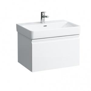 Laufen Pro S Alsószekrény egy fiókkal, matt fehér 61,5x45