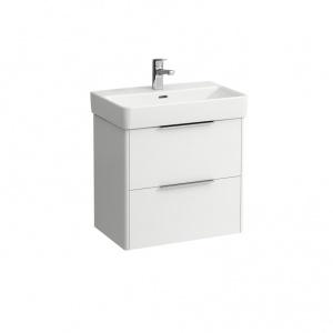 Laufen Base Alsószekrény két fiókos, matt fehér, kompakt 55x35,8