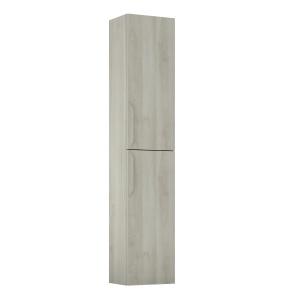 Bannio Urban fali szekrény (150x30x24 cm) White Nature színben