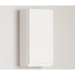 Amazonas Nero 30x60x20-as fali szekrény, fényes fehér színben