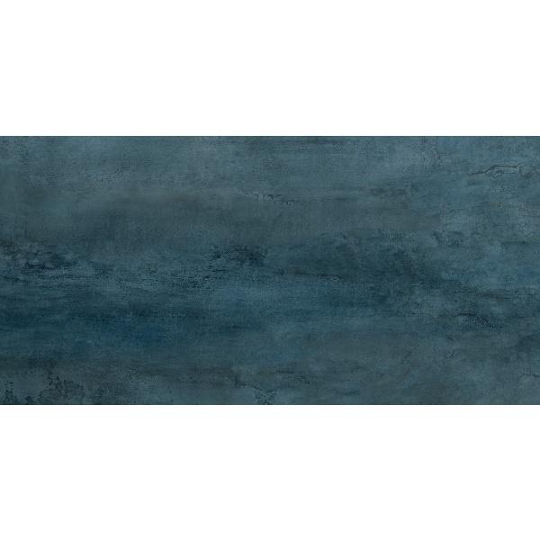 Cersanit Ironic Blue polished 59,8x119,8 gres padlólap