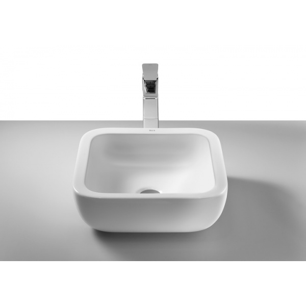 ROCA Khroma Pultra ültethető porcelán mosdó 40x40 cm, Kiállított darab!