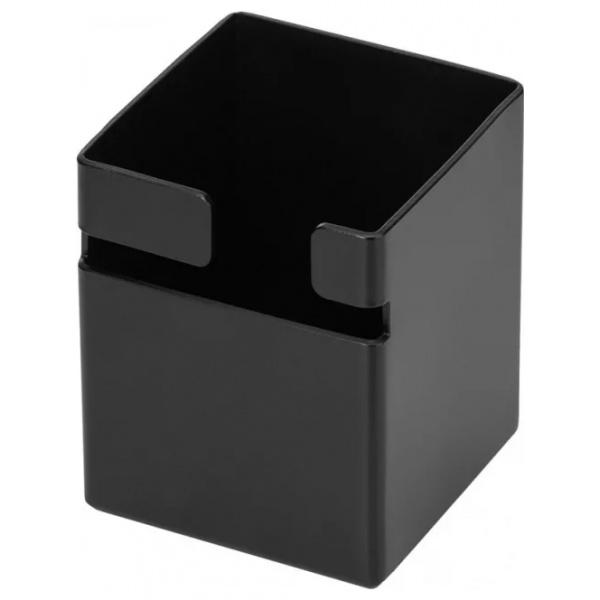 Deante MOKKO pipere tartó kocka - Fekete /tálca és eszköztartó nélkül/ (06ADMN912)